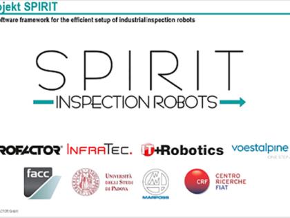 IT+Robotics è parte del Consorzio Europeo di Ricerca Spirit